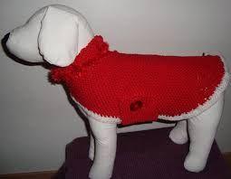 patron de manteau en laine pour chien