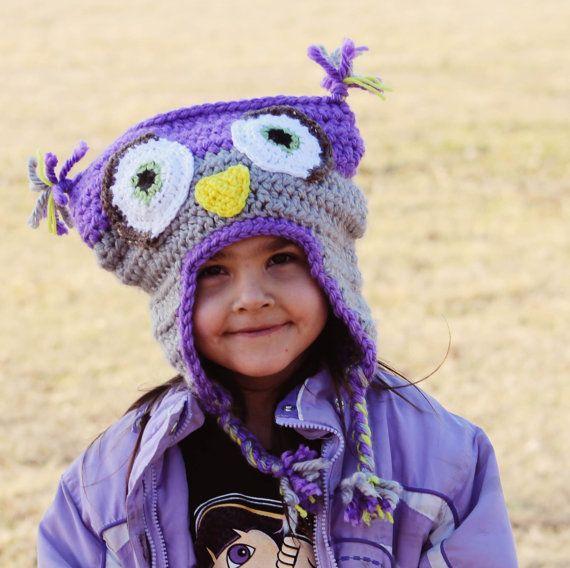 Child's Owl Hat