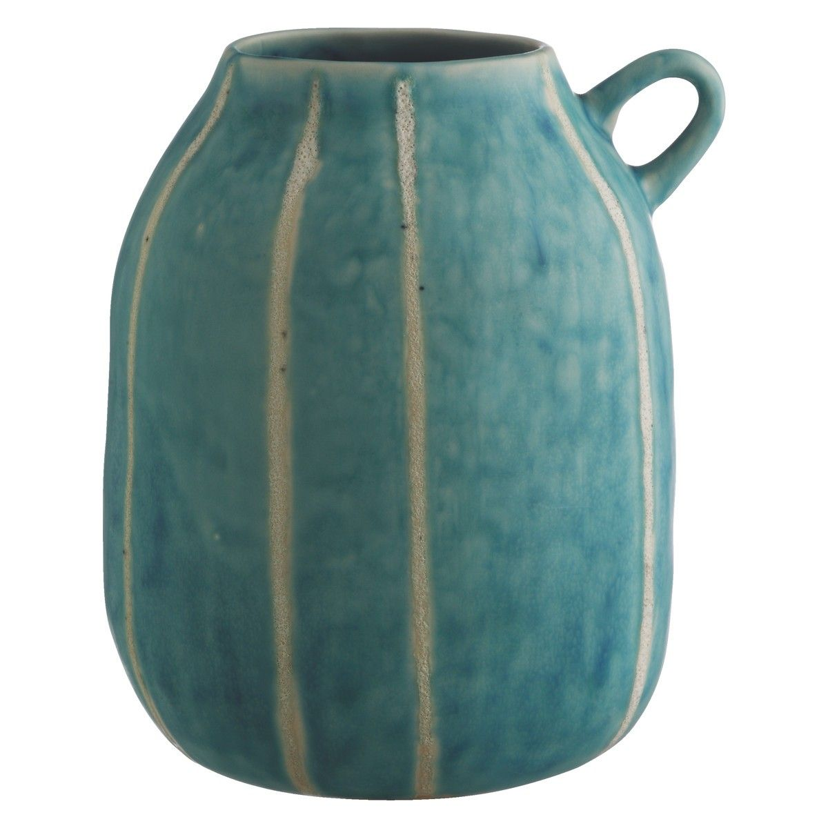 Deedy blue striped ceramic vase with handle blue pinterest deedy blue striped ceramic vase with handle reviewsmspy