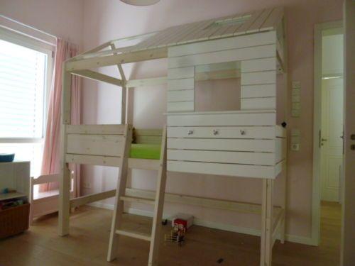 Hochbett Huette Lifetime Kinderbett Kinder Bett Weiss Mit Bildern