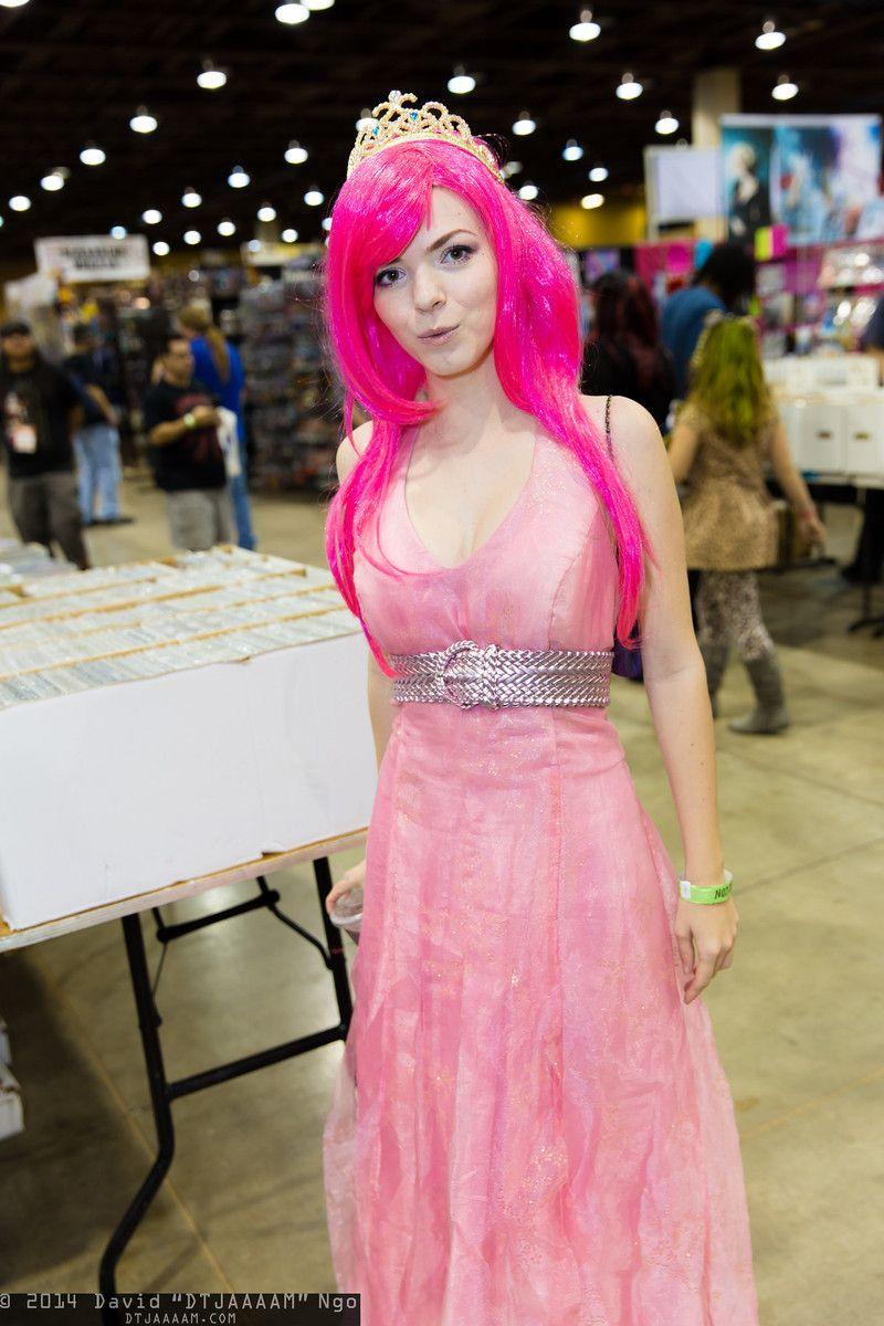 Princess Bubblegum   Amazing Arizona Comic Con 2014 #cosplay, Photo by DTJAAAAM