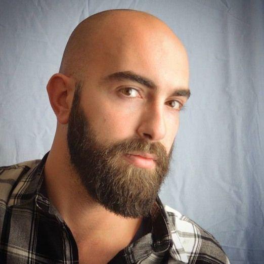 Men Sstyle Bald Men S Style Beard Styles Bald Bald Head With Beard Shaved Head With Beard