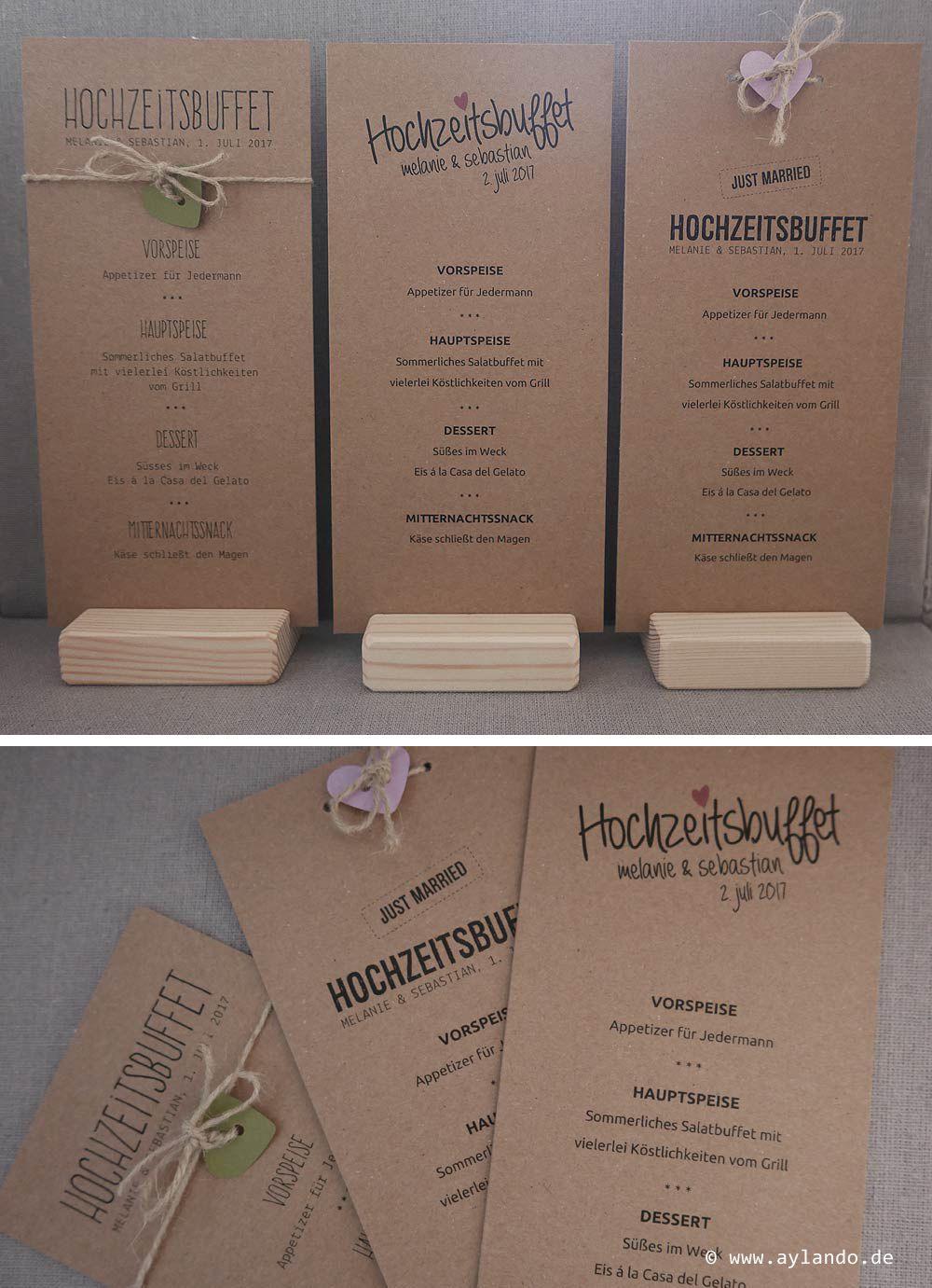 men karte kraftpapier rustic kraft wedding menu card wedding hochzeit pinterest. Black Bedroom Furniture Sets. Home Design Ideas