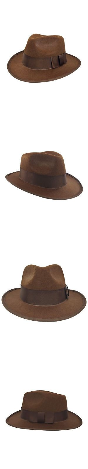 Hats and Headgear 155349  Indiana Jones Freddy Felt 4Th Doctor Who Fedora  Gangster Steampunk Hat Costume -  BUY IT NOW ONLY   10.45 on  eBay   headgear ... abe3cc559d22
