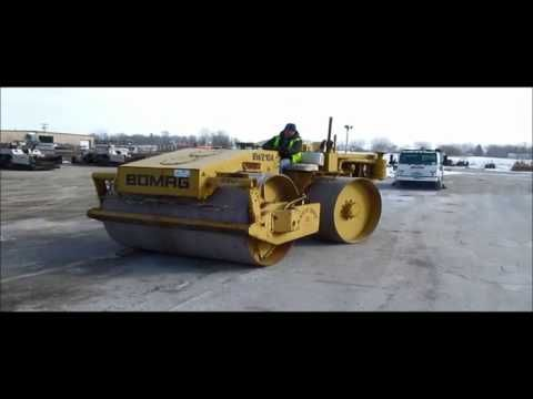 1972 Bomag BW210A articulated drum roller for sale | sold at auction Mar...
