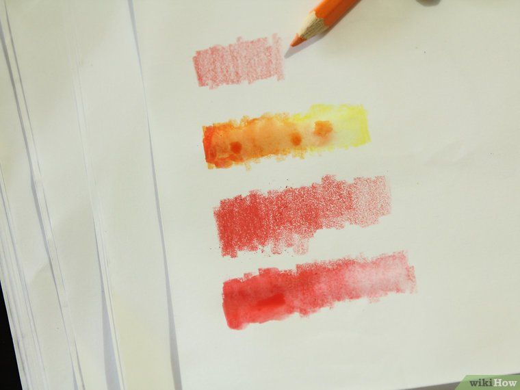 Use Watercolor Pencils Watercolor Pencils Watercolor Pencils