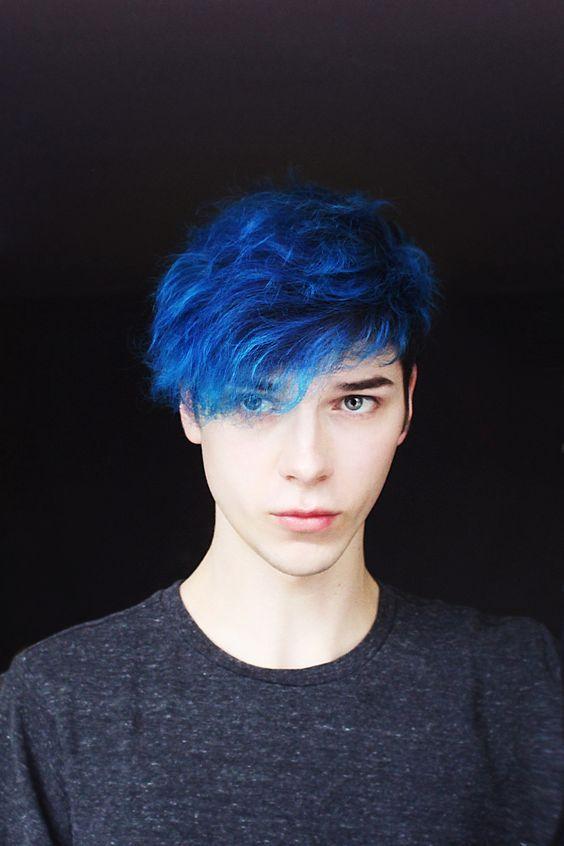 Die besten 10 + Jungs mit blauen Haaren Ideen - wie Männer das blaue Haar -  #besten #blaue #blauen #haaren #ideen #jungs #manner #erkeksaçmodelleri