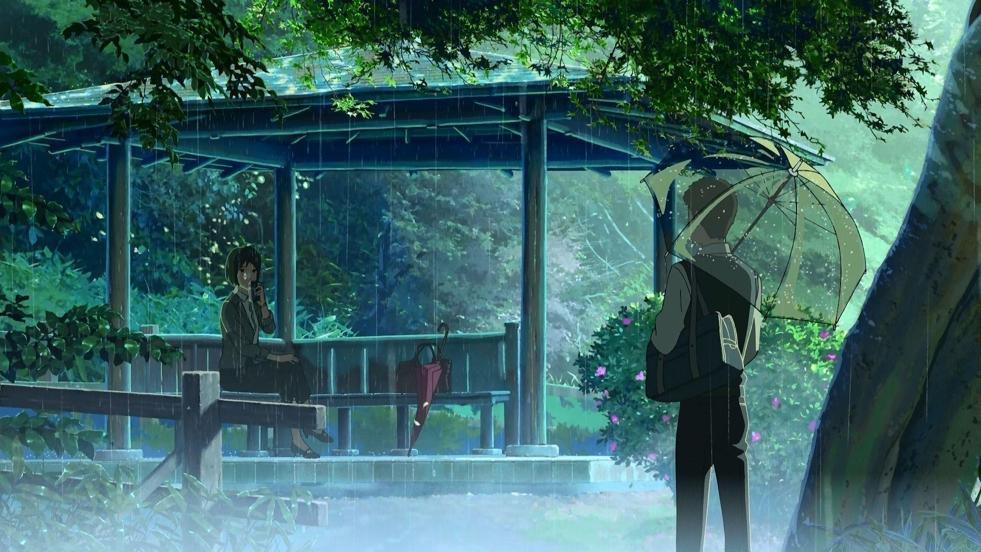 Eljardin1 Jardin De Las Palabras Mejores Peliculas De Anime Peliculas De Anime