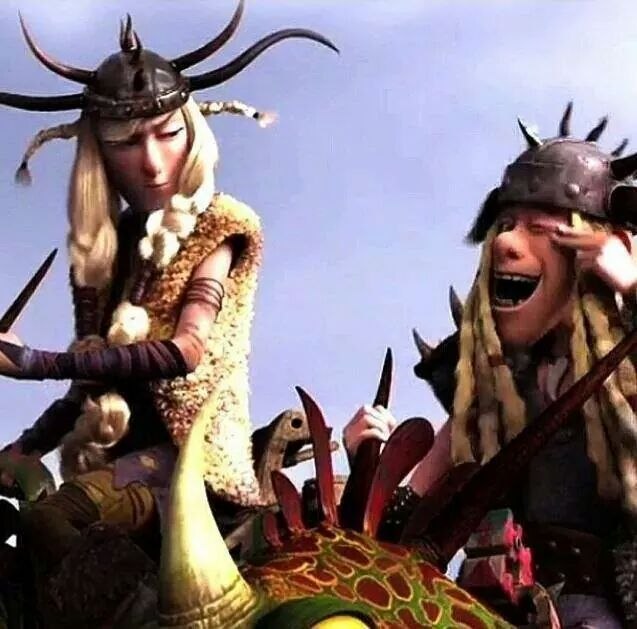 Ruffnut and Tuffnut. | How To Train Your Dragon 2 ...