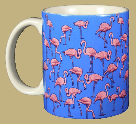 Sapphire Flamingo Wrap Mug