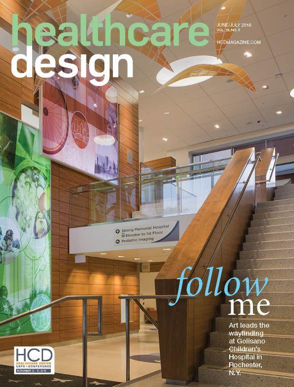 June/July 2016. Golisano Children's Hospital, Rochester, N.Y. Photo: Jackie Shumaker-ArtHouse Deign. http://www.nxtbook.com/nxtbooks/healthcaredesign/20160607/#/0