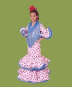 6bcfde995 TRAJE DE FLAMENCA NIÑA. MOD. TORREMOLINOS   traje de flamenca ...