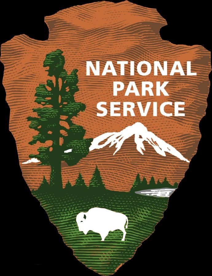 Red 1 Parking Arrowhead Image Is The National Park Service Logo A Brown Arrowhead