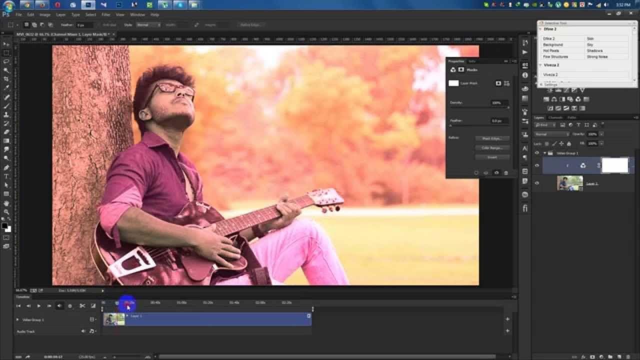 Photoshop cc video editing tutorial video edit color correction photoshop cc video editing tutorial video edit color correction baditri Image collections