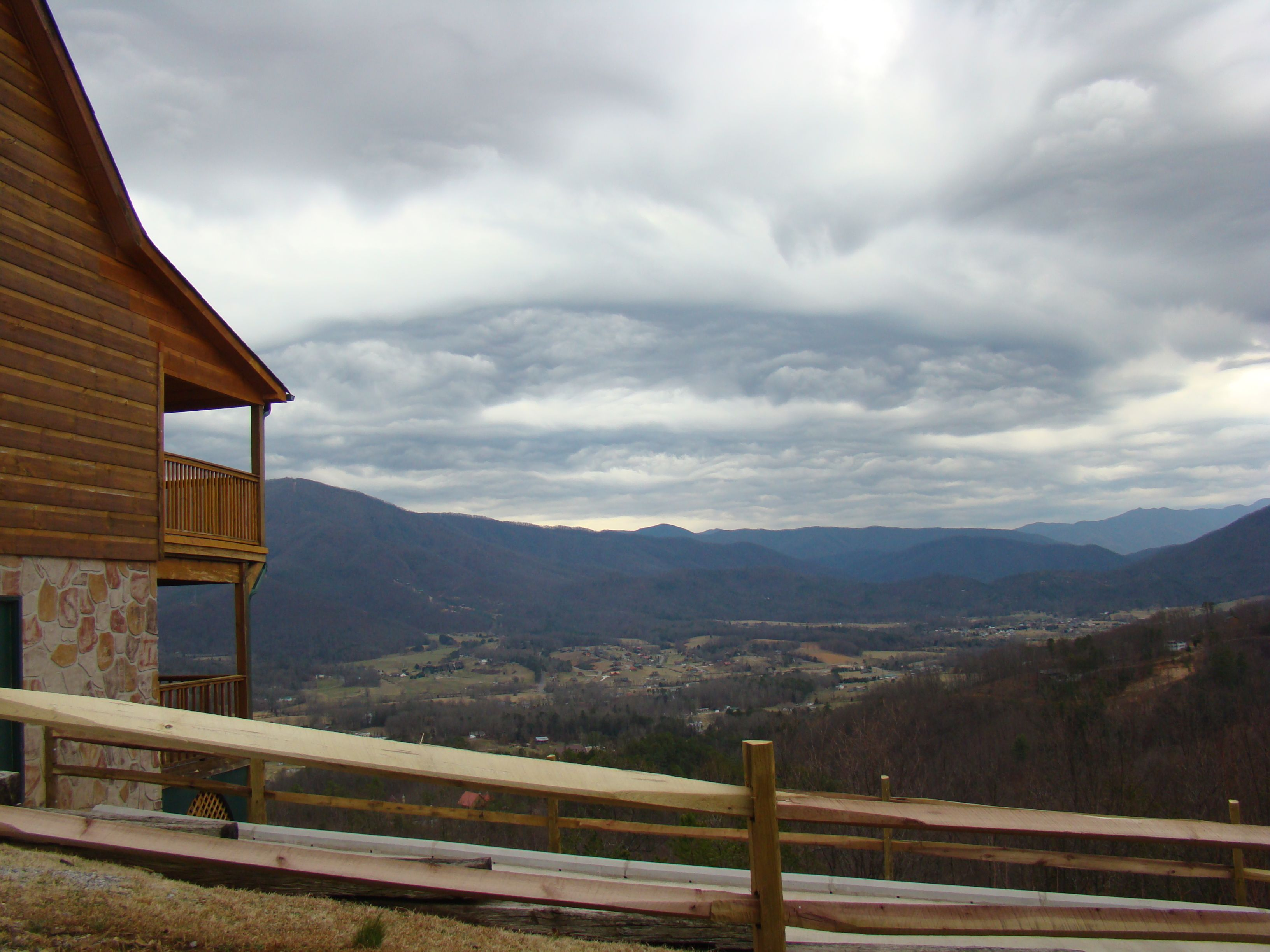 wears valley, tennessee -hatcher mountain area. what a view. i would