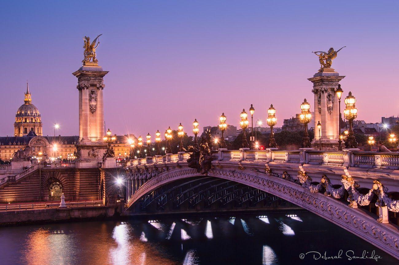 Pont Alexandra III Bridge, Paris, France!
