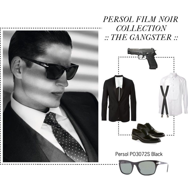 The Persol® Film Noir edition is a contemporary collection which harks back  to the style of the Fabulous Fifties.    THE GANGSTER    PO 3072S 83789b91b586