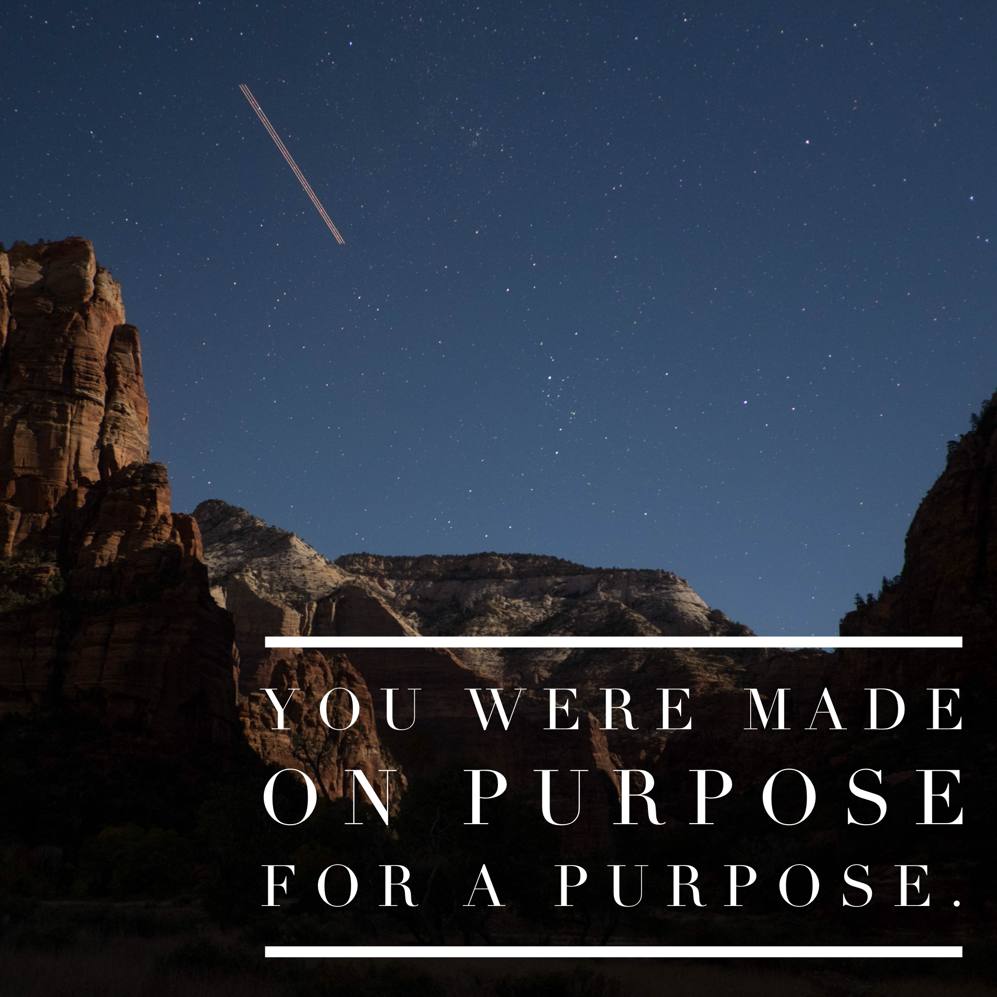 Courage You Were Made On Purpose And For A Purpose
