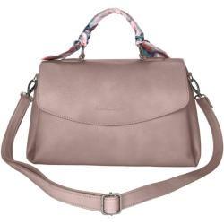 Photo of Fritzi aus Preußen, Handtasche mit eingearbeitetem Tuch als Design-Element, rosé Fritzi aus Preußen