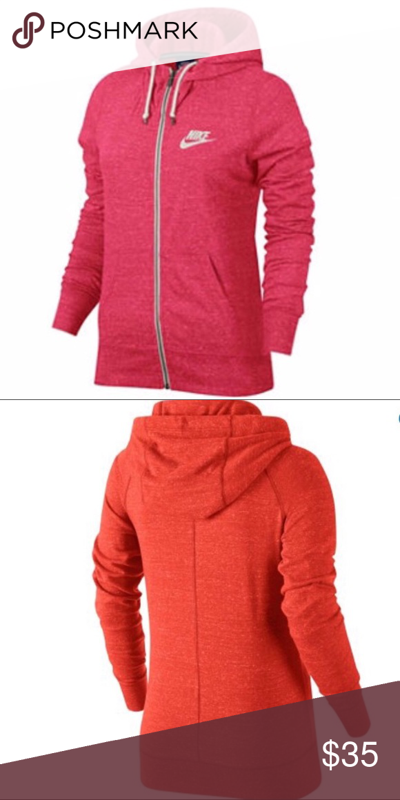 8c3878b2301 🎀NWT🎀Nike women's vintage hoodie Kangaroo pockets Full-length ...