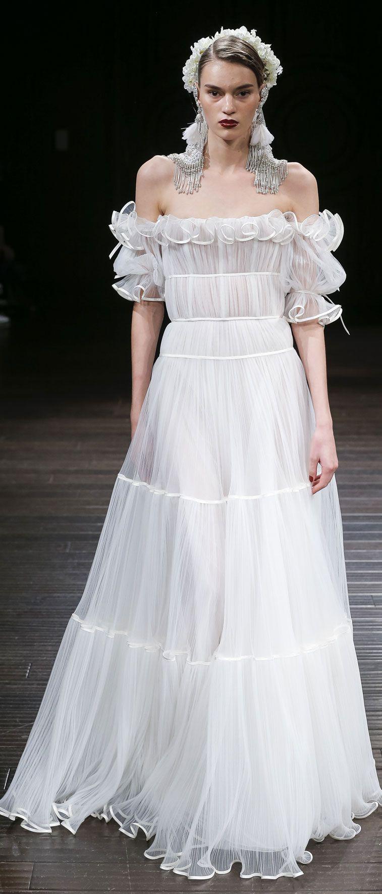 Naeem Khan Wedding Dresses – Fall 2018 Bridal Collection