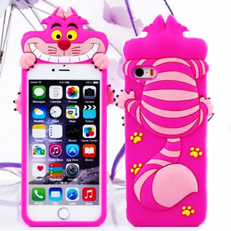 coque iphone 6 chat du cheshire