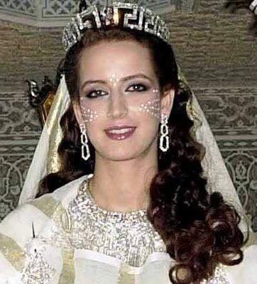 King Mohammed VI of Morocco & Salma Bennani