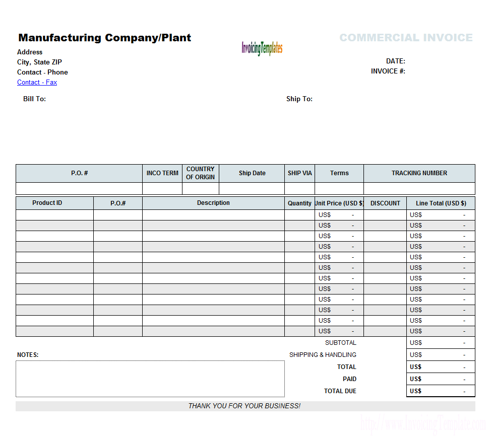 Proforma Invoice Format In Excel For Excel 2013 Invoice Template 10 Professional Templates Ideas 10 Invoice Template Invoice Format Invoice Template Word