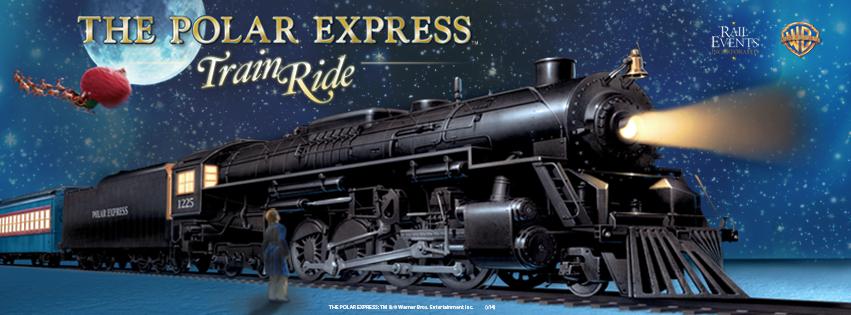 The Polar Express Comes To Kingston In 2014 Polar Express Train Polar Express Train Ride Train Rides