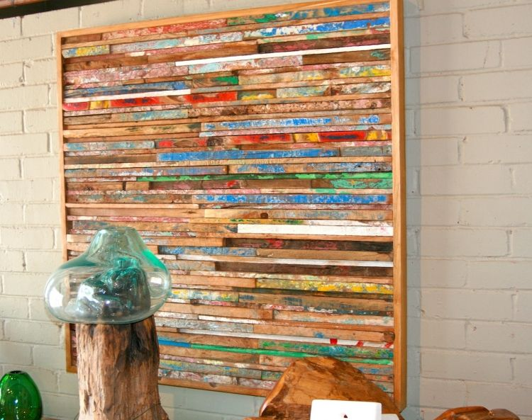 kreative-mobel-selber-bauen-ideen-bild-wanddeko-holz-treibholz - designer mobel aus treibholz