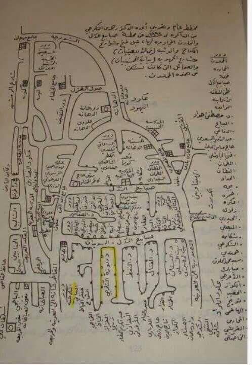 بغداد الرصافة تخطيط لبعض مناطق بغداد القديمه وبعض اسماء العوائل المعروفة والعريقة التي سكنت فيها في القرن التاسع عشر والقرن العشر Baghdad Iraq Baghdad Iraq