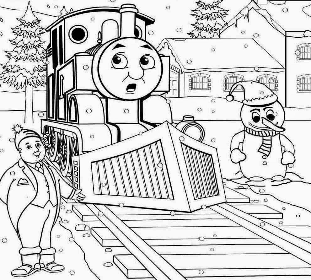 10 ausmalbilder thomas die kleine lokomotive  top