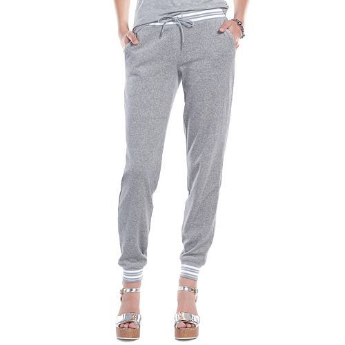 Juicy Couture Lurex Velour Jogger Pants - Women s  e7a2905cd