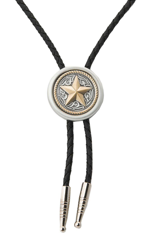 ae355d4d57bb M&F Western Texas Star Bolo Tie | son | Bolo tie, Tie, Texas star