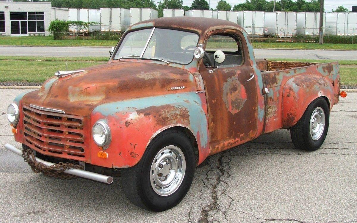 All Wheel Drive And Hemi Power 1950 Studebaker Pickup Classic Trucks Classic Pickup Trucks Custom Trucks