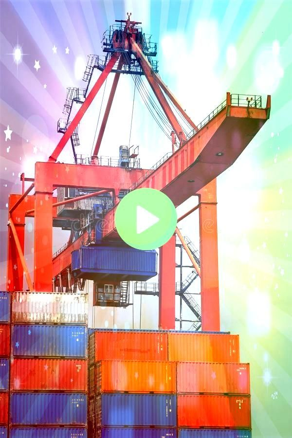 crane Bridge with stacked containers Container crane Bridge with stacked containers  Textiles is one of my new found loves I love learning new techniques that I can incor...