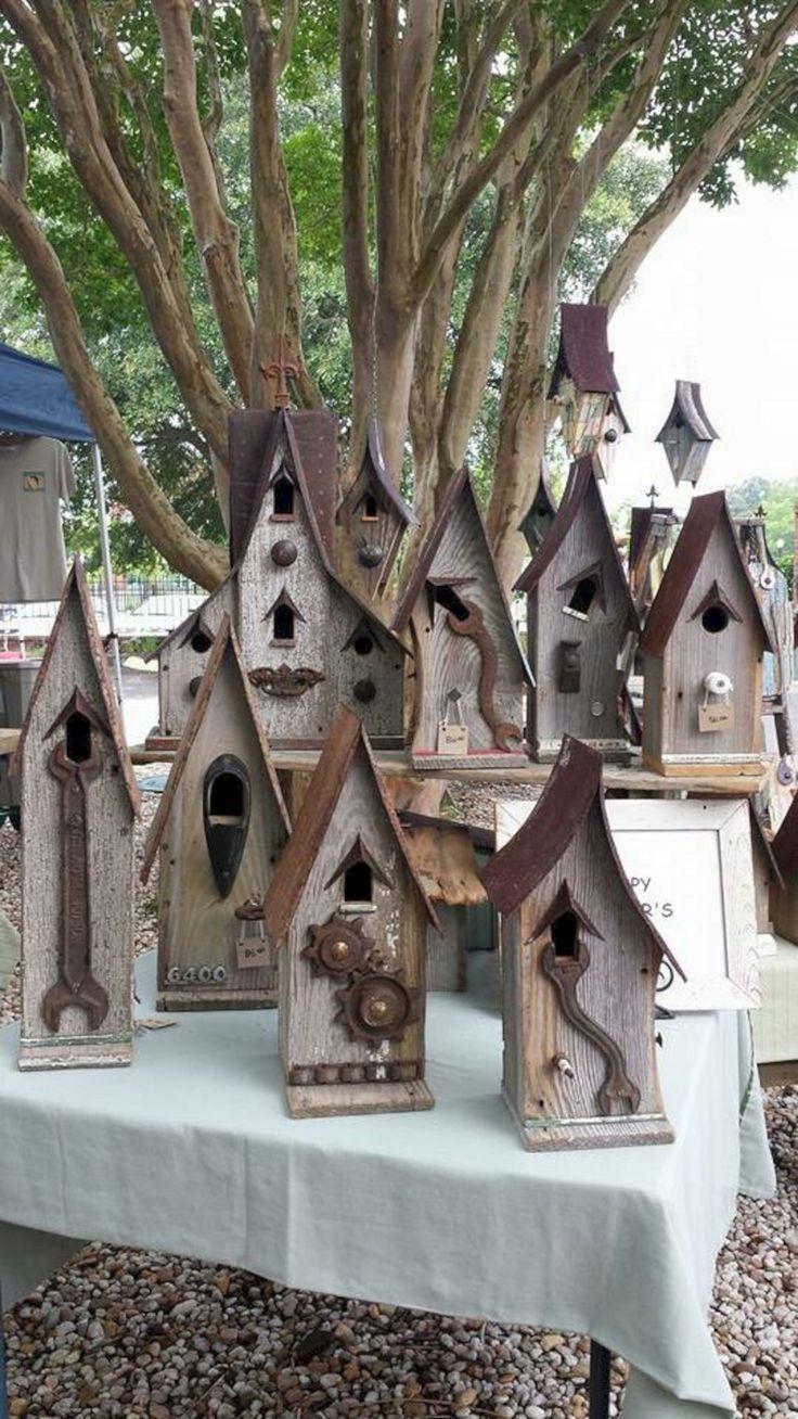 10 Incredible Birdhouse Ideas To Make Your Garden More