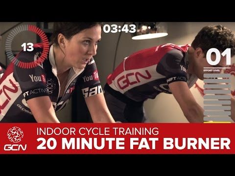 20 Minute Fat Burning Indoor Cycling Workout – Burn Fat ...