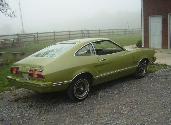 Bright Green Gold 1974 Mustang Ii Hatchback Mustang Ii Mustang Ford Mustang