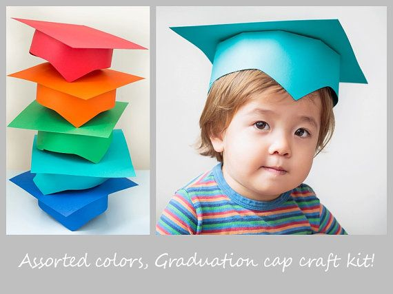 Preschool Graduation Cap Pre K Graduation Cap Kindergarten Graduation Cap Craft Kit Children Kids Graduation Preschool Graduation Kindergarden Graduation