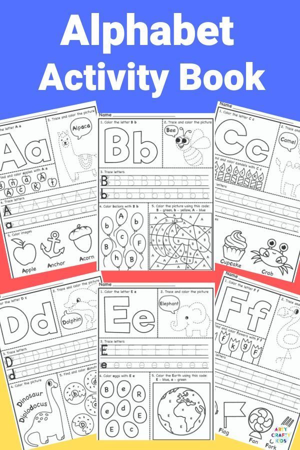 Alphabet Worksheets in 2020 | Alphabet worksheets ...