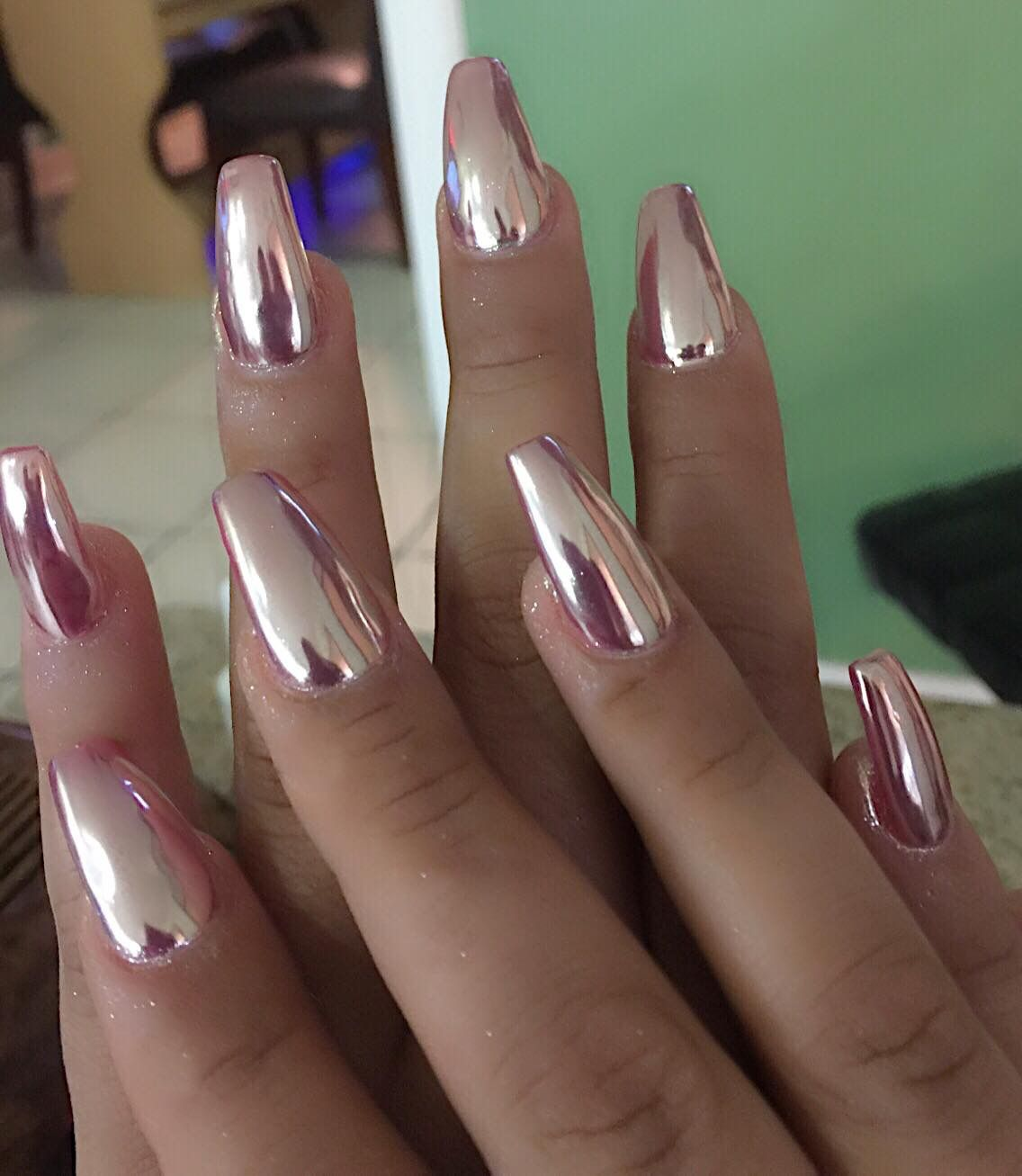 Top 30 Gorgeous Metallic Nail Designs You Can Try To Copy