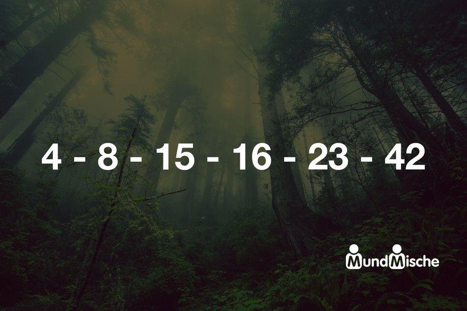 4 8 15 16 23 42 Bedeutet 4 8 15 16 23 42 Ist