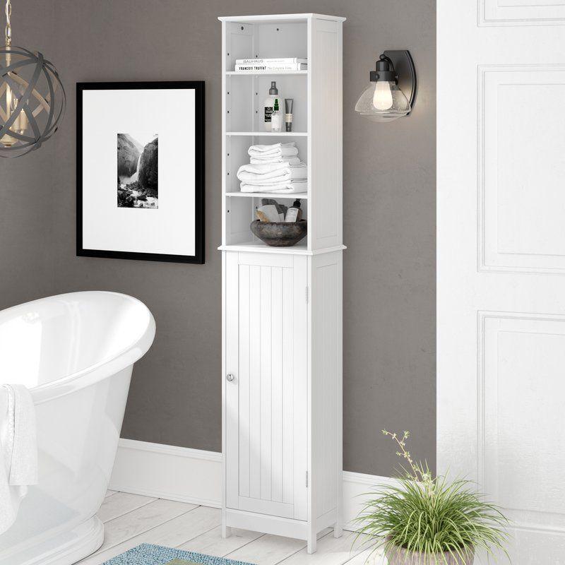 Ashbury 34cm X 165 5cm Free Standing Tall Bathroom Cabinet Bathroom Standing Cabinet Tall Bathroom Storage Cabinet Bathroom Cabinets