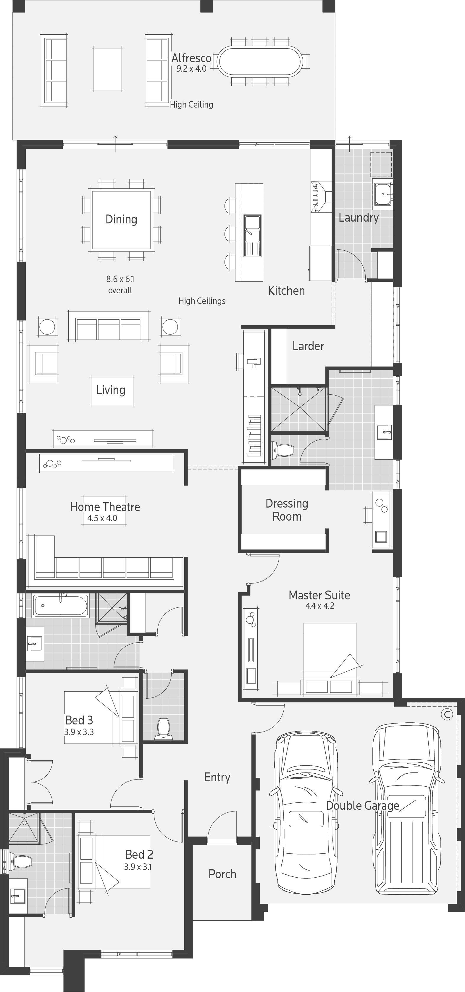 Pin By Kofi Otoo On House Plans Home Design Floor Plans New House Plans Dream House Plans