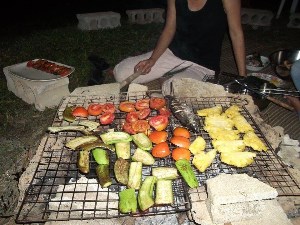 Preparando la cena de nochevieja