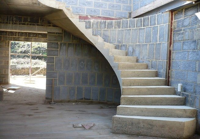 Best Helical Concrete Stairs Concrete Helical Stairs 640 x 480