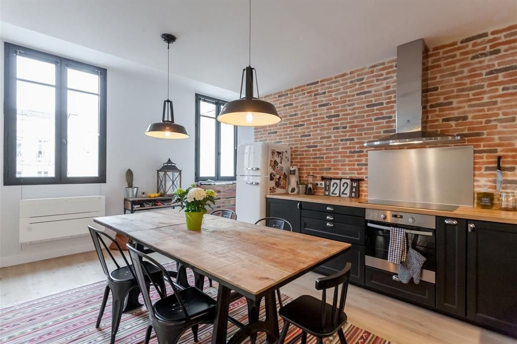 Beautiful Idee Deco Maison Stille Moderne Ancien Ideas - Awesome ...