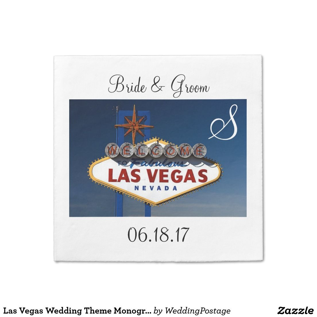 Magnificent Viva Las Vegas Themed Weddings Gift - Blue Wedding Color ...