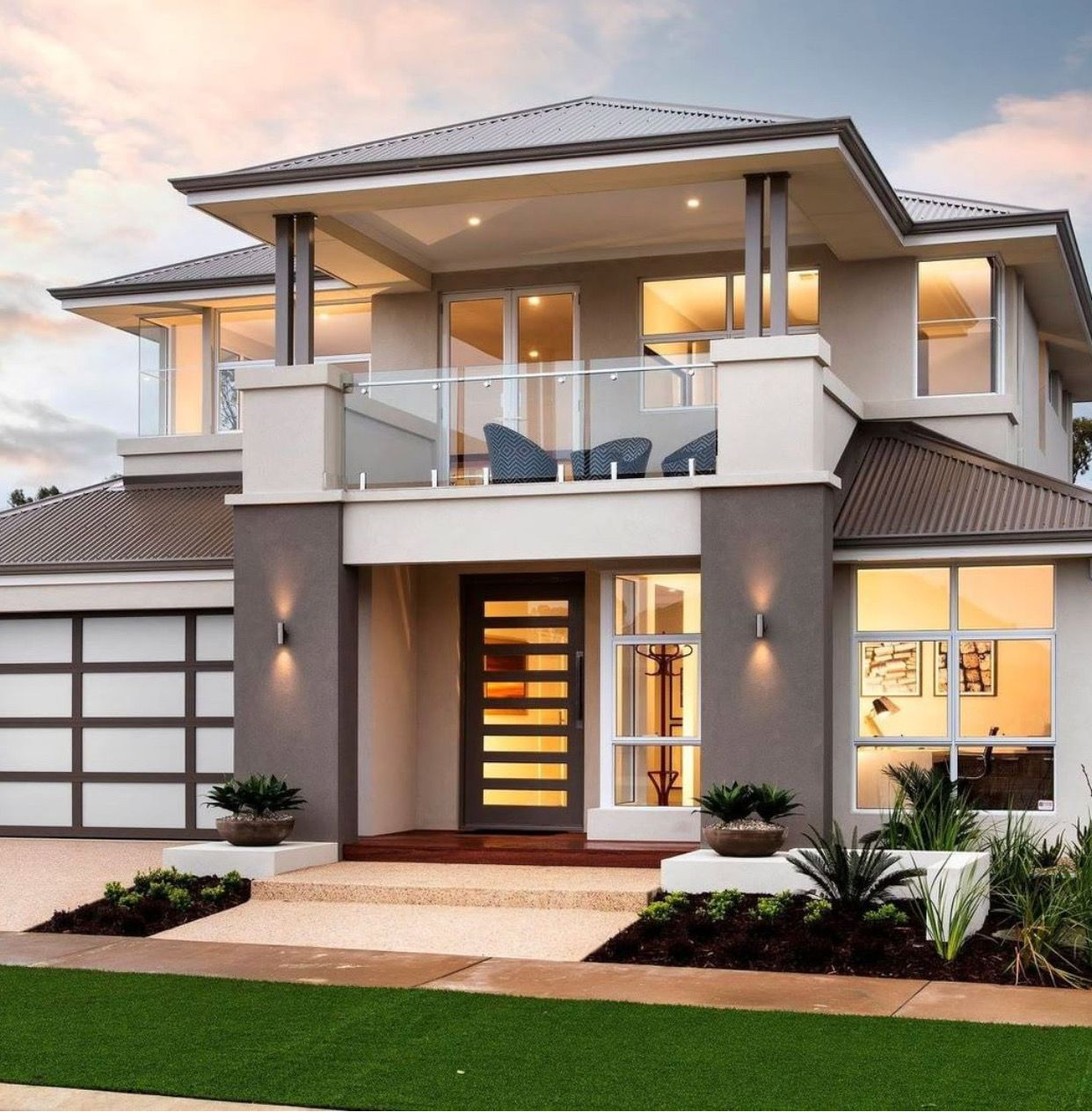House elevation front designs facade beautiful home new also best project images in decorations decor rh pinterest